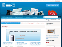 Tablet Preview of beko.elektrahk.cz